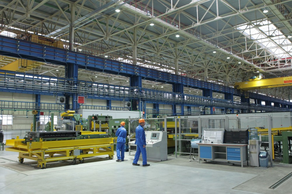 Открытие завода Интеркос-IV в Санкт-Петербурге